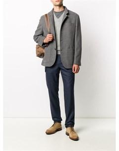Пуловер с V образным вырезом Brunello cucinelli