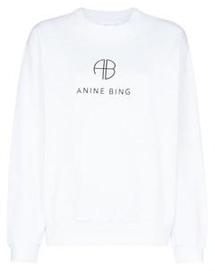 Толстовка с логотипом Anine bing