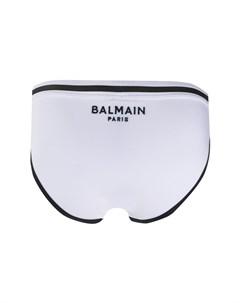 Трусы брифы с логотипом Balmain