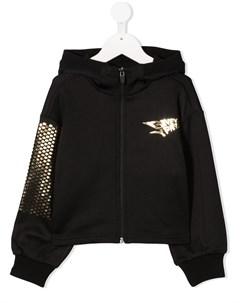 Худи на молнии с логотипом Givenchy kids