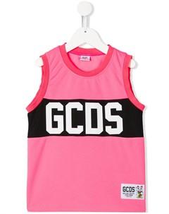 Топ без рукавов с логотипом Gcds kids