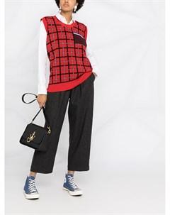 Зауженные брюки с завышенной талией Ymc