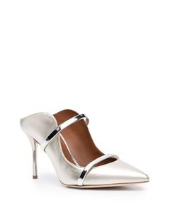 Туфли с эффектом металлик Malone souliers