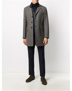 Пальто со съемным жилетом Fay