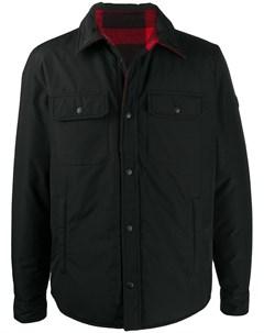 Однобортное пальто Woolrich