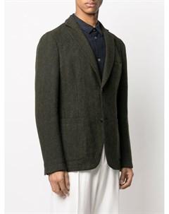 Однобортный пиджак строгого кроя Officine generale