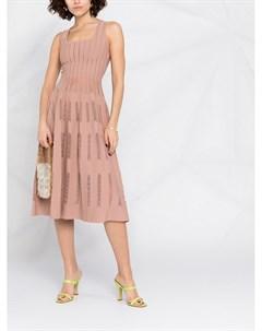 Платье трапеция с вышивкой Antonino valenti