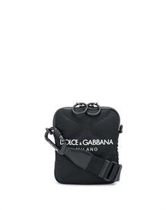 Сумка мессенджер с логотипом Dolce&gabbana