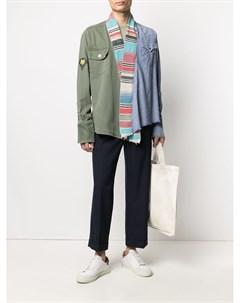 Куртка в стиле колор блок Greg lauren