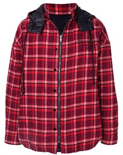 Куртка пуховик в клетку Juun.j