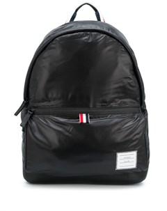 Объемный рюкзак на молнии Thom browne