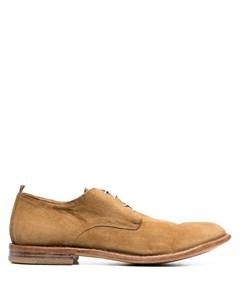 Туфли дерби на шнуровке Moma