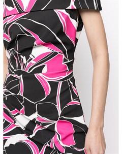 Платье миди Ally с цветочным принтом Milly