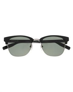 Солнцезащитные очки трапециевидной формы Montblanc