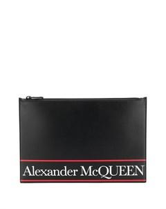 Клатч с логотипом Alexander mcqueen
