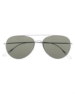 Солнцезащитные очки в круглой оправе Haffmans & neumeister