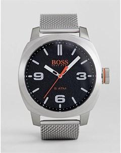 Часы с черным циферблатом By Hugo Boss Cape Town Boss orange