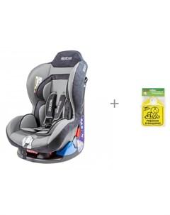 Автокресло F5000K и знак автомобильный Ребенок в машине Baby Safety Sparco