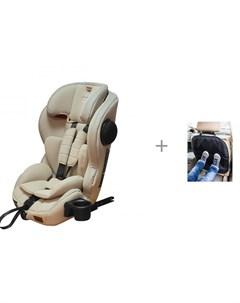 Автокресло Apollo IsoFix и защита сиденья из ткани АвтоБра Carrello