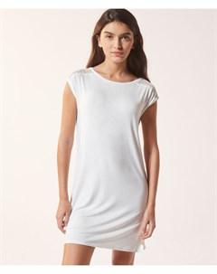 Платье футболка с кружевной отделкой CIDDY Etam