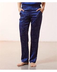Атласные брюки с контрастным принтом LILOUE Etam