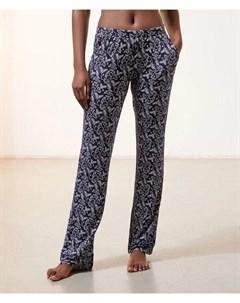 Пижамные брюки с цветочным принтом LOU Etam