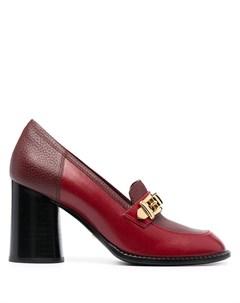 Туфли лодочки с цепочкой Gucci