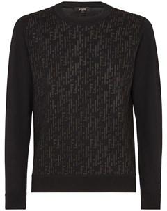 Пуловер с логотипом FF Fendi