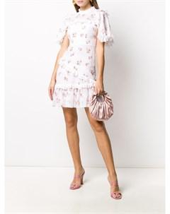 Платье мини с цветочным принтом Needle & thread