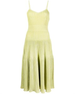 Трикотажное платье трапеция длины миди Antonino valenti