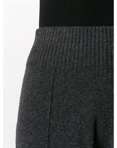 Трикотажные брюки клеш Pringle of scotland