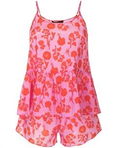 Пижама с цветочным принтом Cynthia rowley