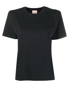 Однотонная футболка Nude