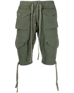 Шорты с кулиской и карманами Greg lauren