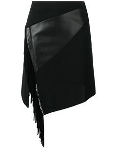 Приталенная юбка с бахромой сбоку Barbara bui