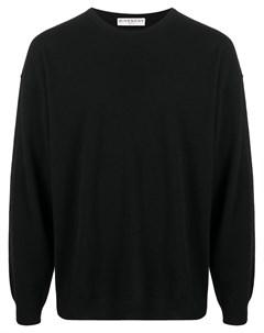 Пуловер с нашивкой логотипом Givenchy
