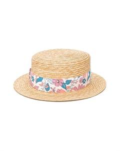 Шляпа с бантом Chloé kids