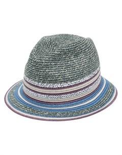 Шляпа с принтом Artist Paul smith