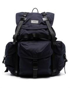 Рюкзак с пряжками и нашивкой логотипом Juun.j