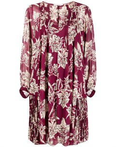 Плиссированное платье с цветочным принтом Dorothee schumacher
