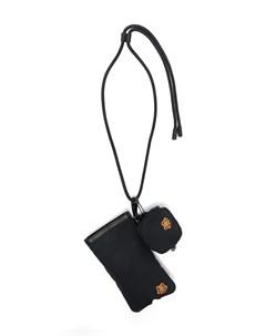 Сумка для телефона с нашивкой логотипом Kenzo