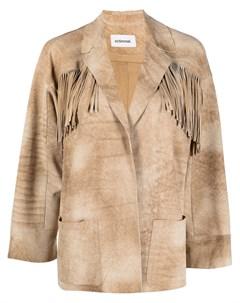 Куртка с бахромой Sylvie schimmel