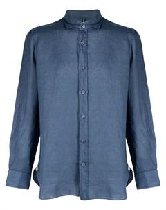 Рубашка с воротником стойкой Borrelli