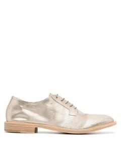 Туфли Kass на шнуровке Del carlo