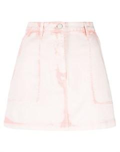 Джинсовая мини юбка Alberta ferretti