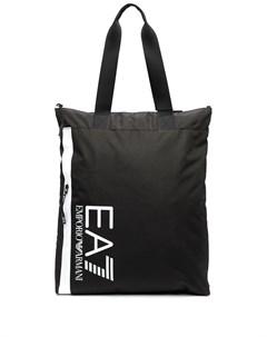 Сумка тоут с логотипом Ea7 emporio armani