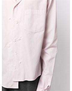 Длинная рубашка асимметричного кроя Sulvam