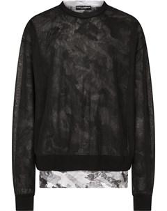 Многослойный пуловер Dolce&gabbana