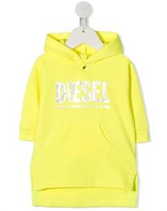 Худи с логотипом Diesel kids