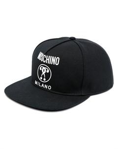 Шестипанельная кепка с логотипом Moschino
